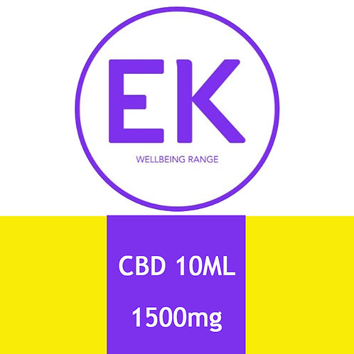 CBD 1500mg Sublingual Spray - EK Wellbeing Range