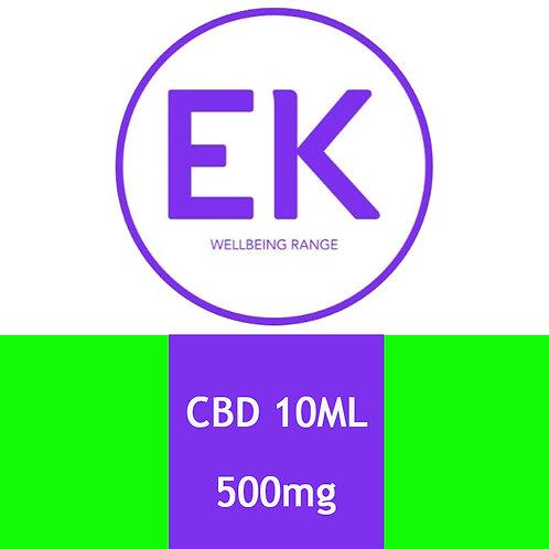 CBD 500mg Sublingual Spray - EK Wellbeing Range