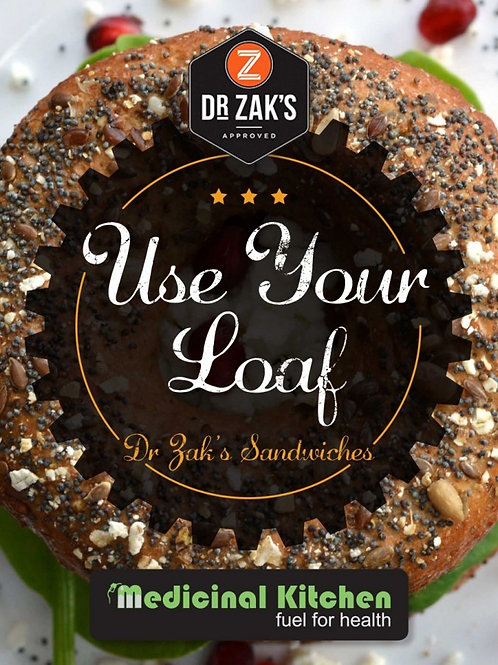 E-Book Medicinal Kitchen – Dr Zak's Use Your Loaf