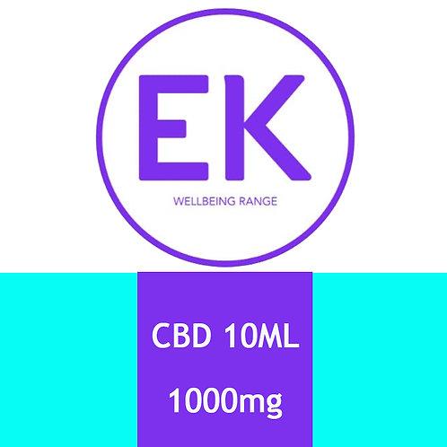 CBD 1000mg Sublingual Spray - EK Wellbeing Range