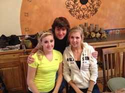 Camie, Cameron and Natasha