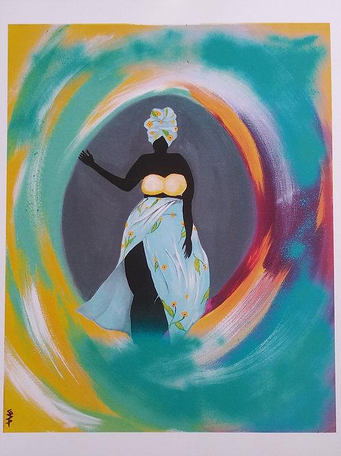 Goddess - print