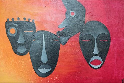 Masks - print