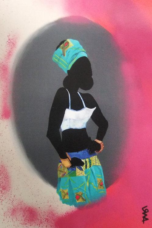 Small Print -Nubian