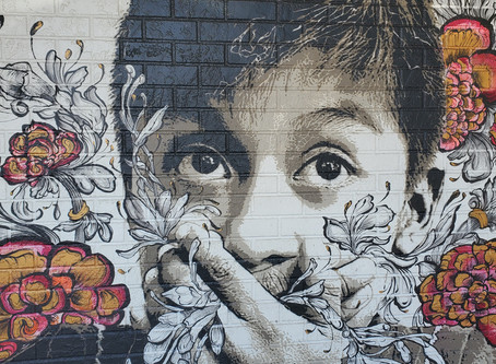 Finding Adventure During a Pandemic - Mural Walk