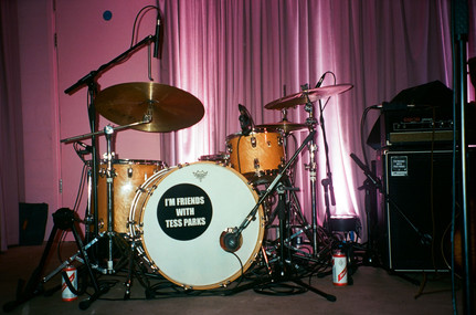 Ludwig Classic Maple, Istanbul Agop, Remo  YES, Manchester. Photographer unknown.