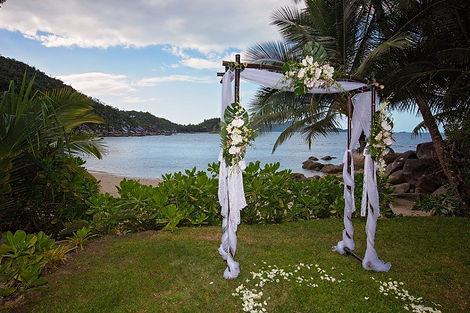 Bedarra Resort Mission Beach wedding styled and decorated by Flowers by Jenny