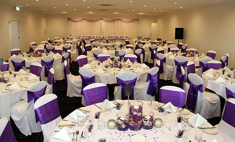 wedding reception styled and decorated by Flowers by Jenny decore hire