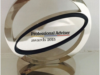 Professional Adviser Awards 2015 Winners!!