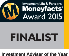 Shortlisted for Investment Adviser  of the year!