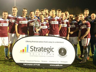 Terras: Weymouth delight after lifting Dorset Senior Cup