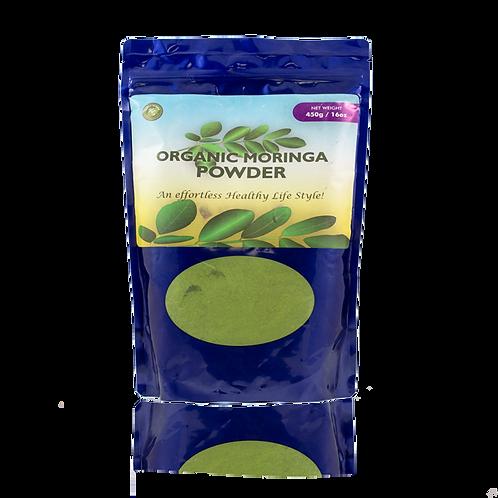 Organic Moringa Powder 16 oz.