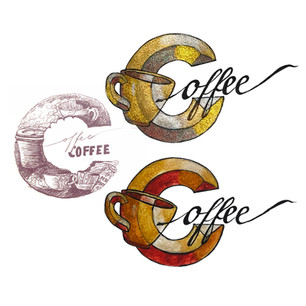 Coffee Logo Sketches