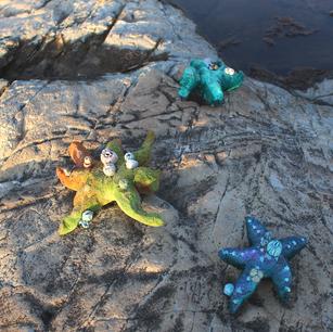 Starfish Pins