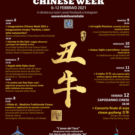 Festival Chinese Week 2021: tra dirette e backstage