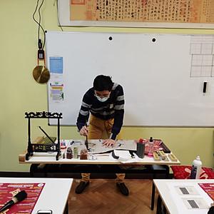 Workshop di calligrafia cinese