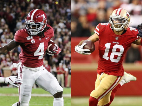 Why Dante Pettis could be the reason Kyle Shanahan passes on WR Jerry Jeudy