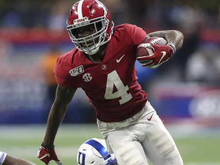 Why Alabama's Jerry Jeudy doesn't physically fit Kyle Shanahan's ideal receiver mold