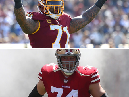 VIDEO: 49ers Joe Staley will retire, per report; SF trades for Redskins' Trent Williams