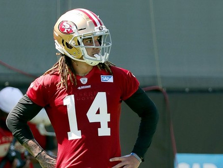 Navigating the injuries: 49ers look to retool wide receiver corps on the fly