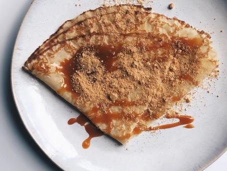 [Chandeleur] Notre recette de crêpes (sans lactose) au caramel et poudre de tasse Fleur de Sel