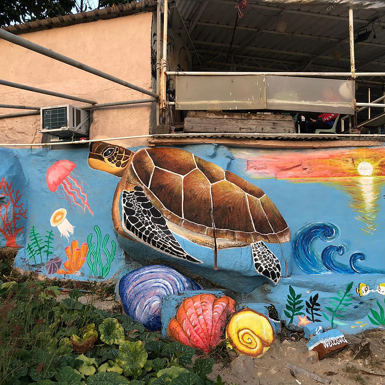 Sok Kwu Wan Mural Art 2021