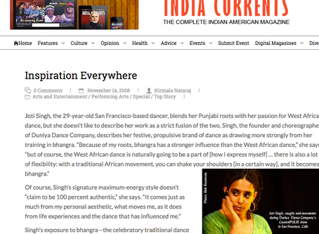 Inspiration Everywhere India Currents