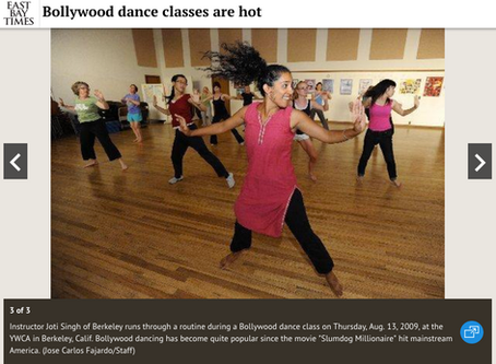 Bollywood dance classes are hot!