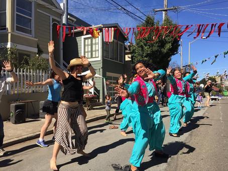 Elsie Street Block Party Performance