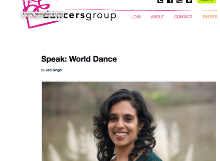 Speak: World Dance