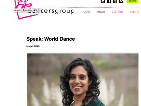Speak: World Dance