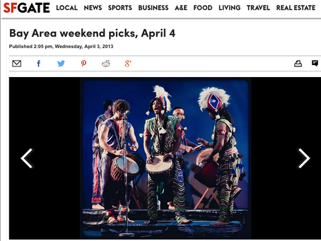 Bay Area weekend picks, April 4