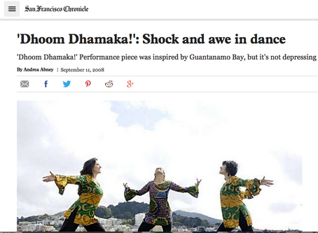 'Dhoom Dhamaka!': Shock and awe in dance
