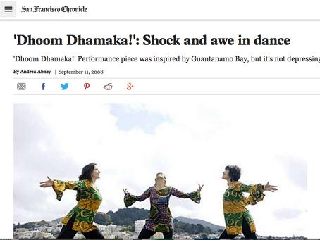 'Dhoom Dhamaka!': Shock and awe in dance