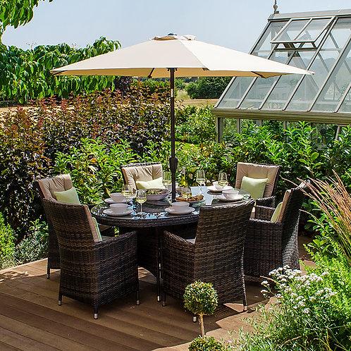 Sienna Oval Dining Set (6 Seat)