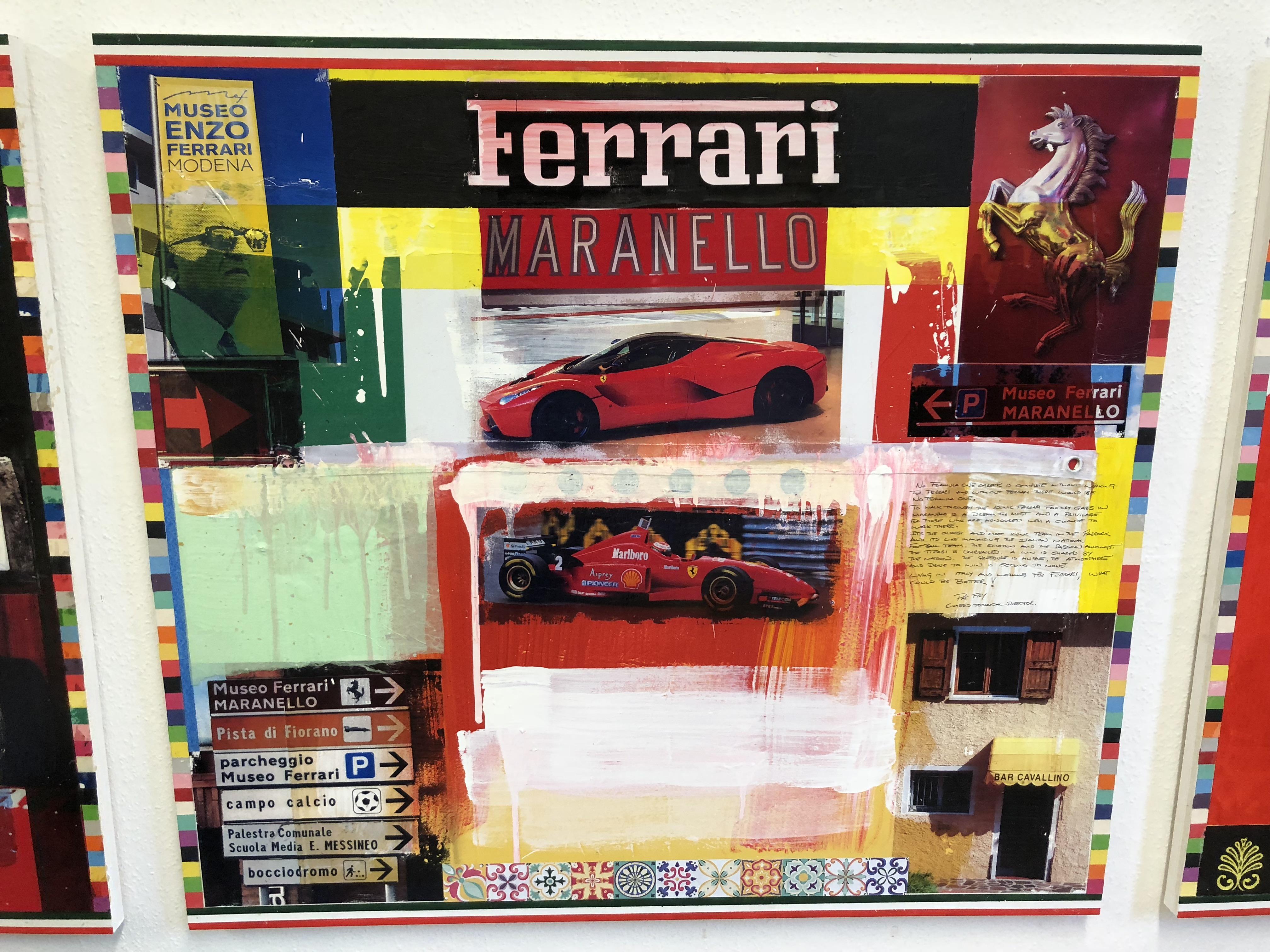 Home Ferrari In Art