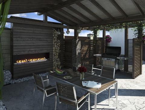 Bepsoke Outdoor Kitchen Idea