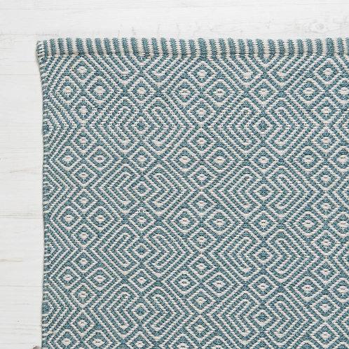 Weaver Green Provence Rug - Teal - 150cm x 90cm