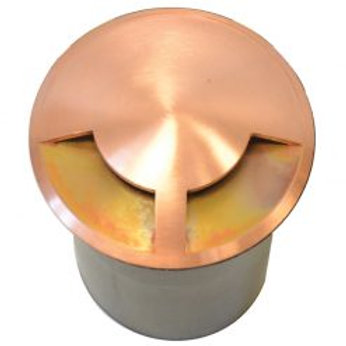 Lumena DuoMarka Copper Step Light / Recessed Light 2 way - (12v with 2 pin plug)
