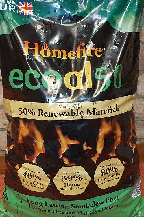 Homefire ecoal 50 - 20kg