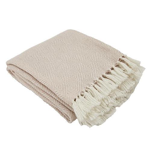 Weaver Green Blanket - Diamond - Shell