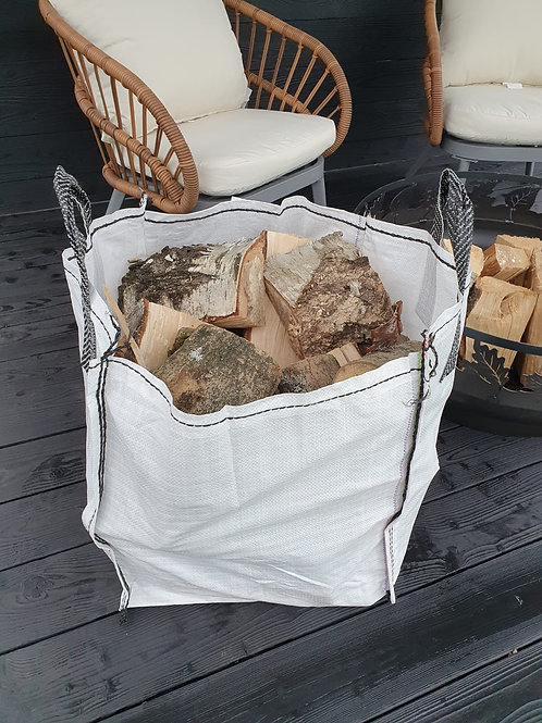 Seasoned Fire Wood - 125ltr barrow bag