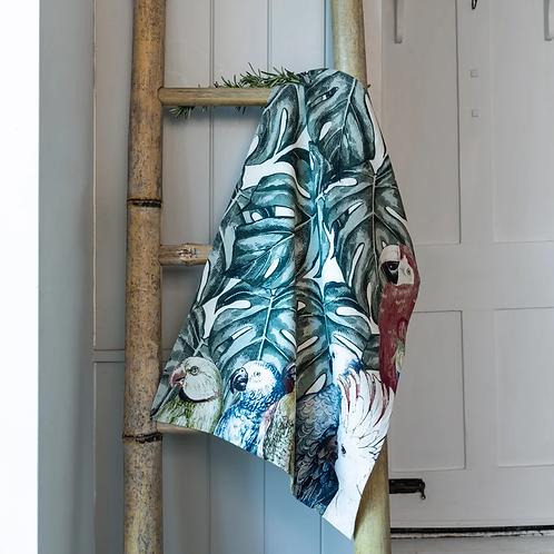 100% Cotton Kitchen Towel Parrot