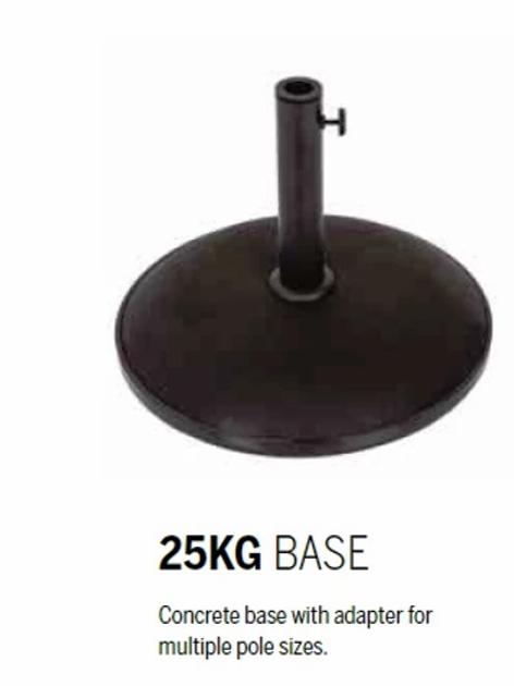 Parasol Base - 25kg