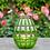 Thumbnail: Glass Blown Lantern Emerald
