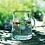 Thumbnail: Vintage Flowers Glass Jug