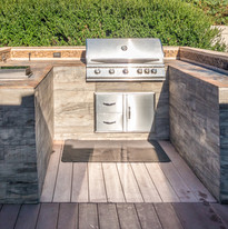 Built-in grill at the private deck.jpg