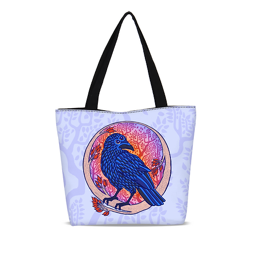 Look For Me Canvas Zip Tote