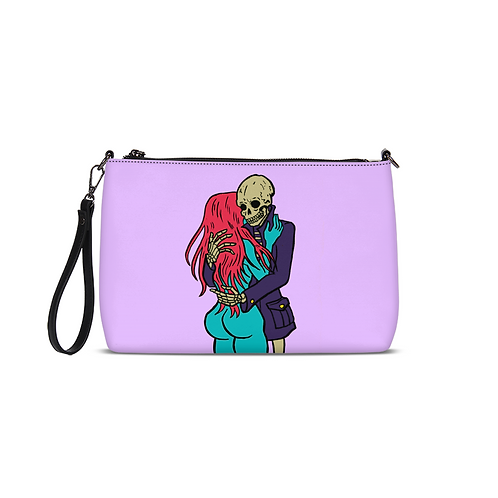 Love You to the Bones Convertible Clutch
