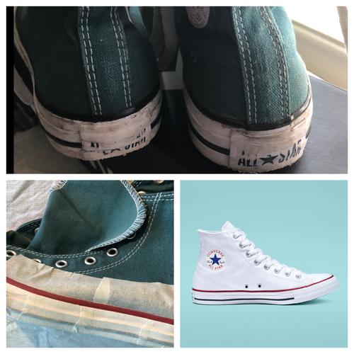 Custom Dyed Converse